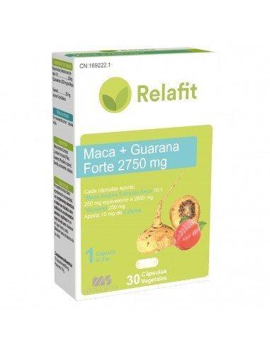 Relafit Maca y Guaraná 30 Cápsulas