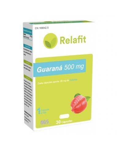 Relafit Guaraná 30 Cápsulas