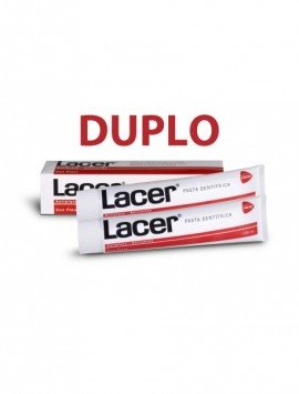 Lacer Pasta Dental Duplo 2x125ml.