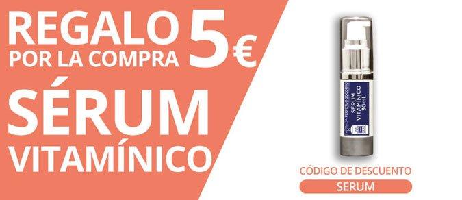 regalo 5€ serum Farmagranada
